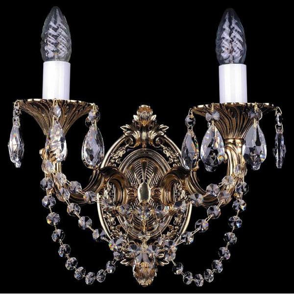 Бра 1702B/2/175/C/GB Bohemia Ivele Crystal