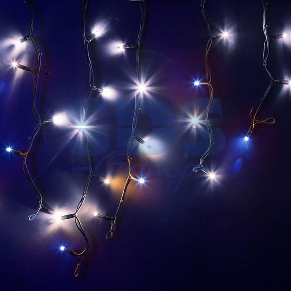 Бахрома световая (4x0,6 м) КАУЧУК 255-235 Neon-Night