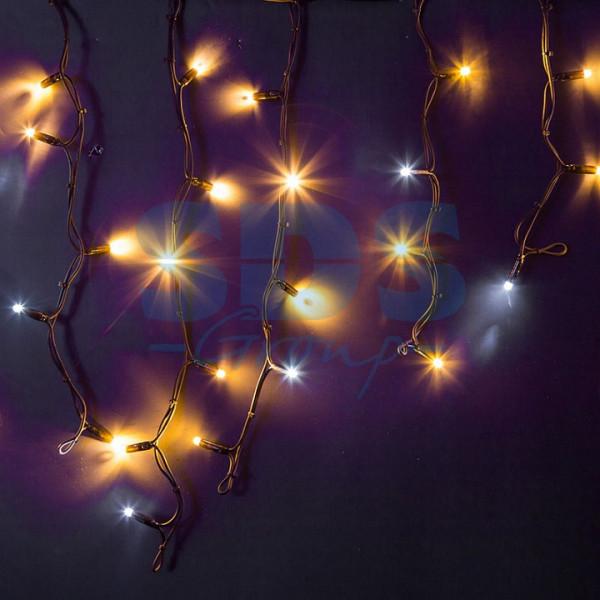 Бахрома световая (4x0,6 м) КАУЧУК 255-236 Neon-Night
