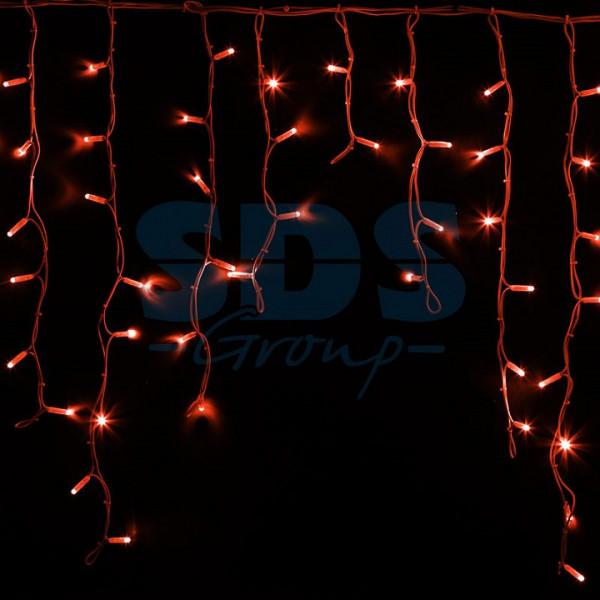 Бахрома световая (5,6x0,9 м) КАУЧУК 255-282 Neon-Night