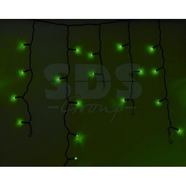 Бахрома световая (2,4x0,6 м) Айсикл 255-044 Neon-Night