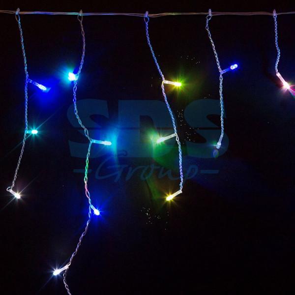 Бахрома световая (1,8x0,5 м) Айсикл 255-009 Neon-Night