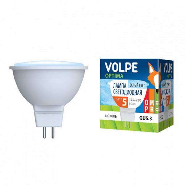 Лампа светодиодная Uniel  GU5.3 5Вт 4000K 09945 Uniel