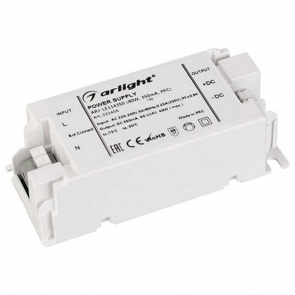 Блок питания Arlight  ARJ-LE114350 (40W, 350mA, PFC) Arlight