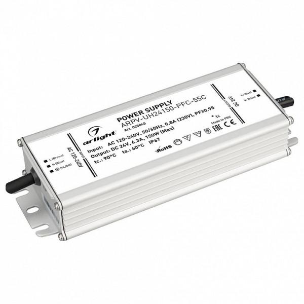 Блок питания Arlight  ARPV-UH24150-PFC-55C (24V, 6.3A, 150W) Arlight