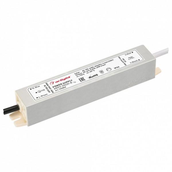 Блок питания Arlight  ARPV-24020-B (24V, 0.8A, 20W) Arlight