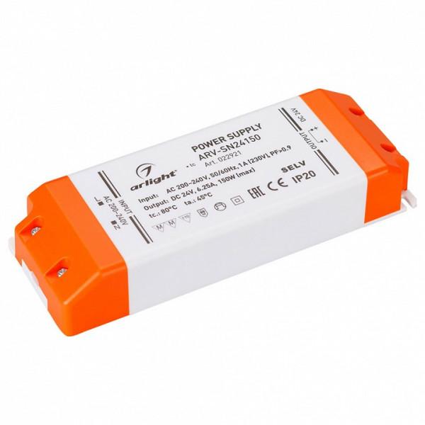 Блок питания Arlight  ARV-SN24150 (24V, 6.25A, 150W, PFC) Arlight