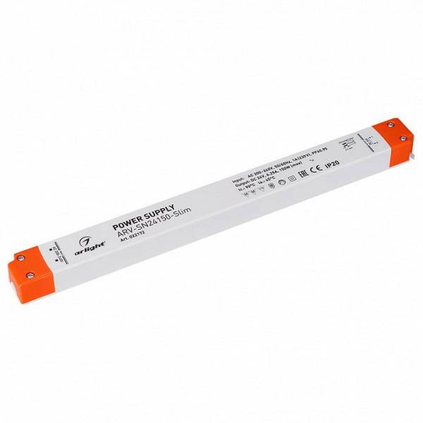 Блок питания Arlight  ARV-SN24150-Slim (24V, 6,25A, 150W, PFC) Arlight