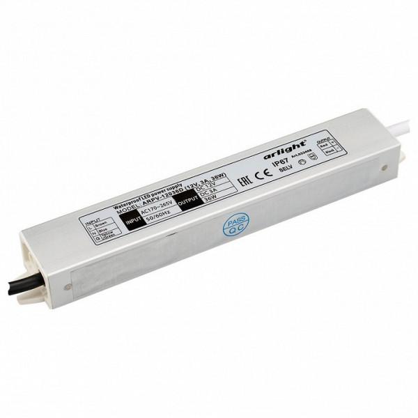 Блок питания Arlight  ARPV-12036-D (12V, 3.0A, 36W) Arlight