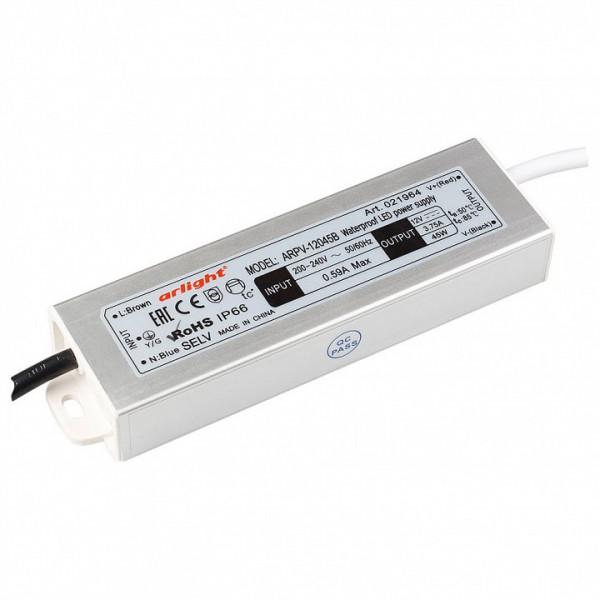 Блок питания Arlight  ARPV-12045-B (12V, 3.8A, 45W) Arlight