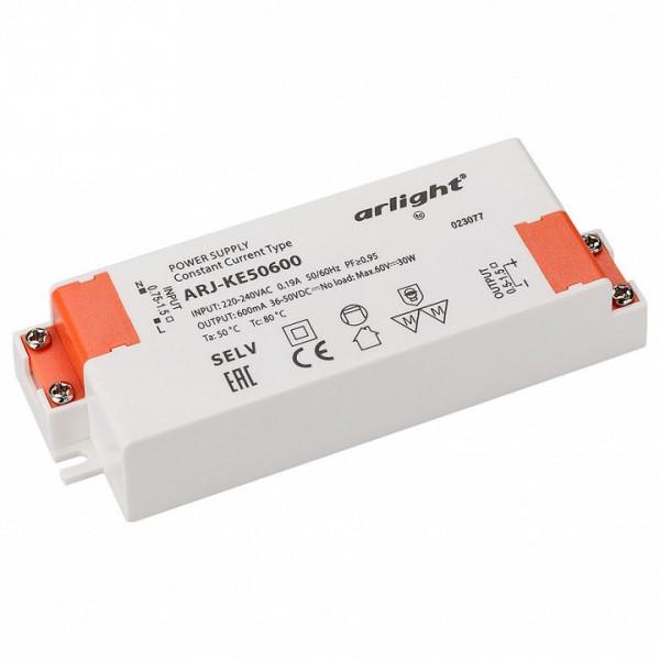 Блок питания Arlight  ARJ-KE50600 (30W, 600mA, PFC) Arlight