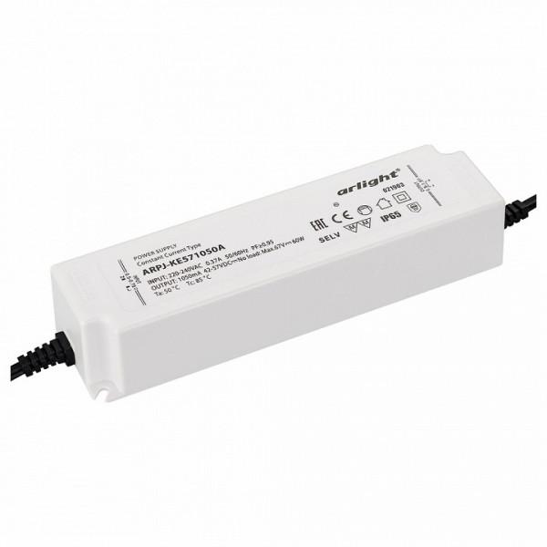 Блок питания Arlight  ARPJ-KE571050A (60W, 1050mA, PFC) Arlight