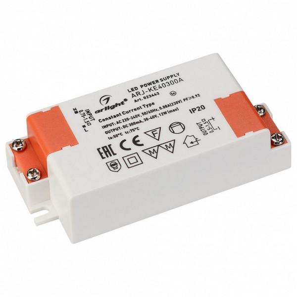 Блок питания Arlight  ARJ-KE40300A (12W, 300mA, PFC) Arlight