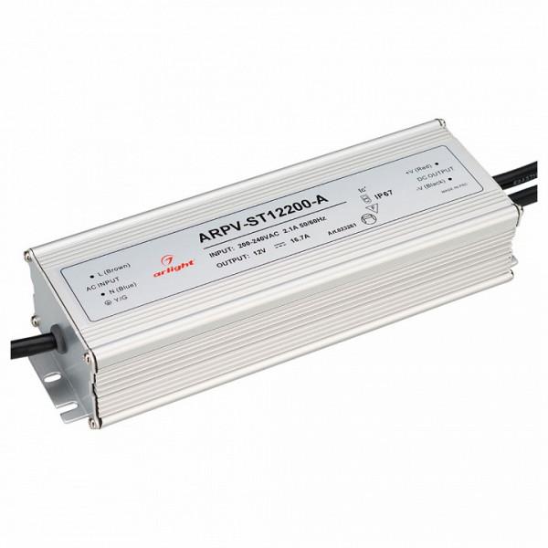 Блок питания Arlight  ARPV-ST12200-A (12V, 16.7A, 200W) Arlight
