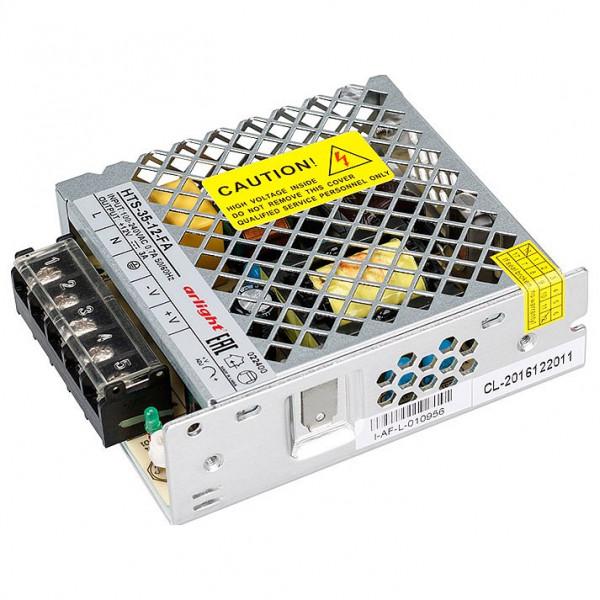 Блок питания Arlight  HTS-35-12-FA (12V, 3A, 35W) Arlight