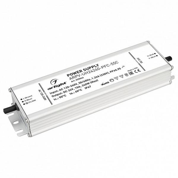 Блок питания Arlight  ARPV-UH24240-PFC-55C (24V, 10.0A, 240W) Arlight