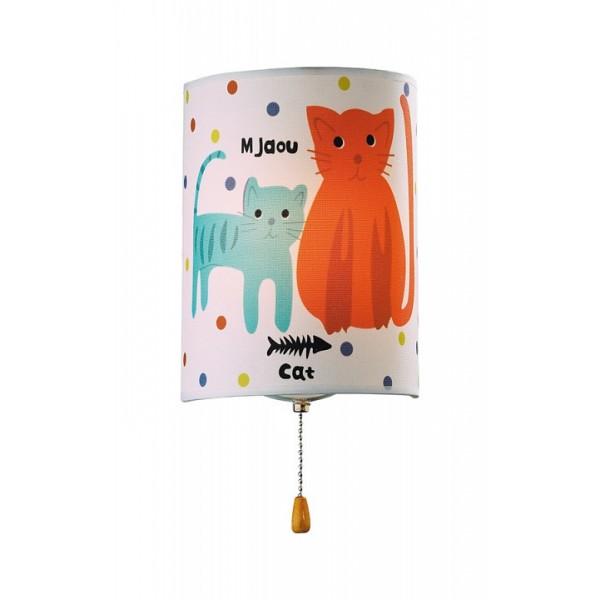 Детский светильник 2279/1W Odeon Light CATS